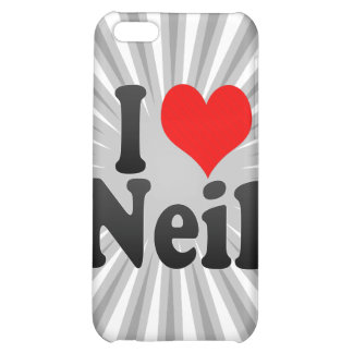 I love Neil Cover For iPhone 5C