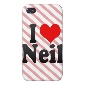 I love Neil iPhone 4/4S Cases