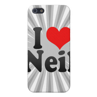 I love Neil Cases For iPhone 5