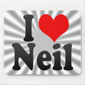 I love Neil Mouse Pad