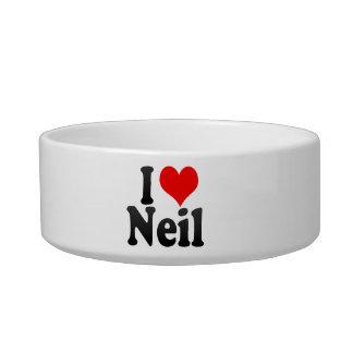 I love Neil Cat Bowl