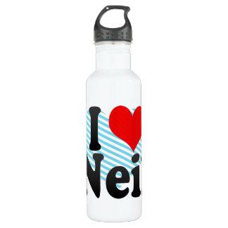 I love Neil 24oz Water Bottle