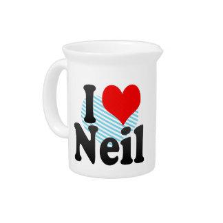 I love Neil Drink Pitchers