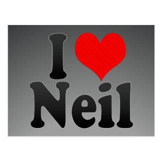 I love Neil Postcards