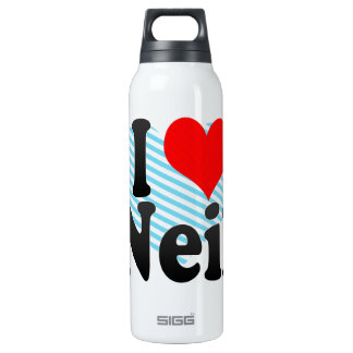 I love Neil 16 Oz Insulated SIGG Thermos Water Bottle