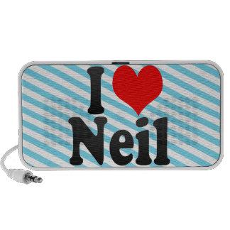 I love Neil Mp3 Speakers