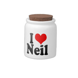 I love Neil Candy Dish