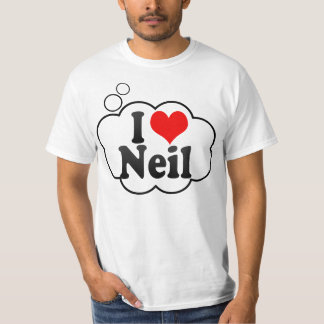 I love Neil T-shirt