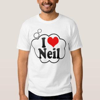 I love Neil Tee Shirt