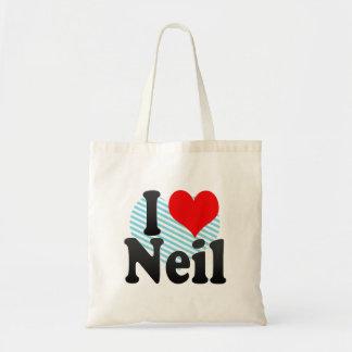 I love Neil Bag