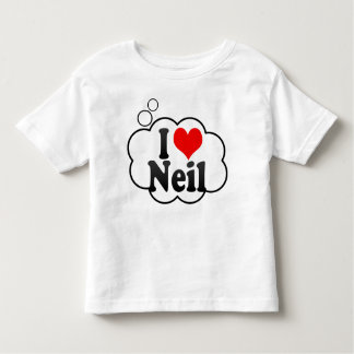 I love Neil T-shirts
