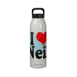 I love Neil Drinking Bottles