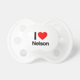 i love nelson baby pacifiers