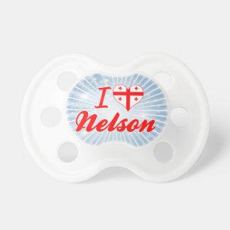 I Love Nelson Georgia Pacifiers