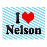 I love Nelson Postcard