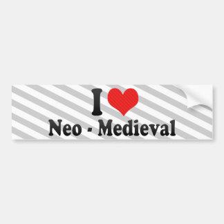 I Love Neo - Medieval Bumper Sticker