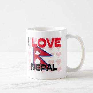 I Love Nepal Coffee Mug