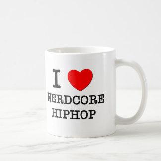 I Love Nerdcore Hiphop Mug