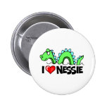 I Love Nessie Buttons