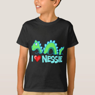 I Love Nessie T-Shirt