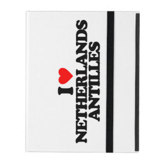 I LOVE NETHERLANDS ANTILLES iPad COVER