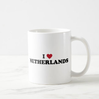 I Love Netherlands Basic White Mug