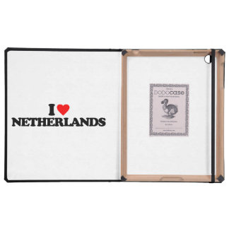 I LOVE NETHERLANDS iPad COVERS