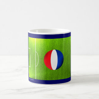 I Love Netherlands football soccer flag mug