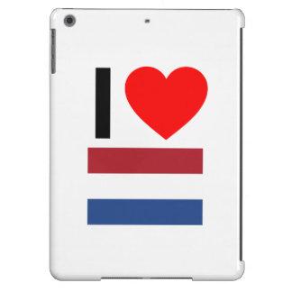 i love netherlands iPad air case