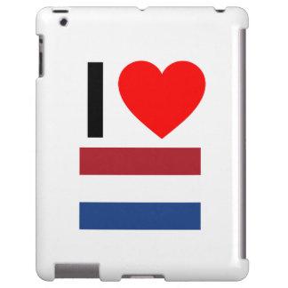 i love netherlands iPad case