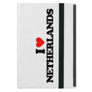 I LOVE NETHERLANDS iPad MINI COVERS