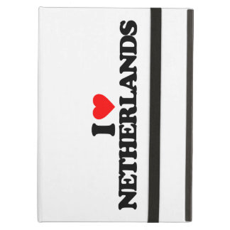 I LOVE NETHERLANDS iPad AIR CASES