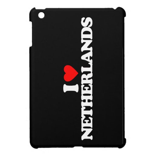 I LOVE NETHERLANDS COVER FOR THE iPad MINI