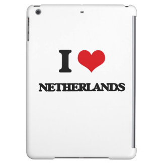 I Love Netherlands Case For iPad Air