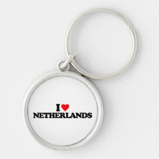 I LOVE NETHERLANDS KEY CHAIN