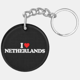 I LOVE NETHERLANDS KEY CHAINS