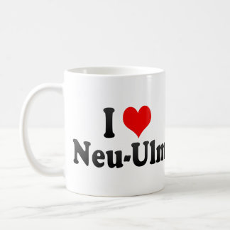 I Love Neu-Ulm, Germany Coffee Mug