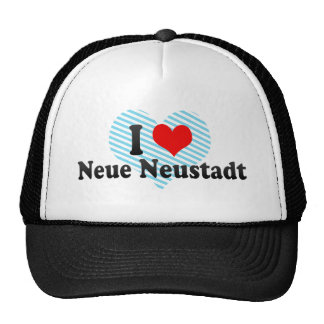 I Love Neue Neustadt, Germany Mesh Hat