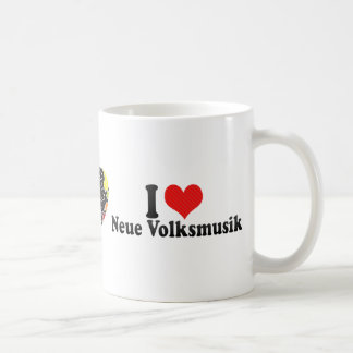 I Love Neue Volksmusik Coffee Mugs