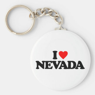 I LOVE NEVADA KEY RING