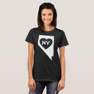 I Love Nevada State Women's Basic T-Shirt