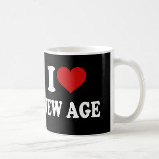 I Love New Age Basic White Mug