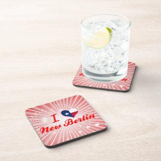 I Love New Berlin Texas Beverage Coasters
