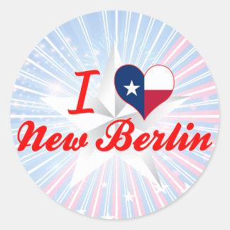 I Love New Berlin, Texas Sticker