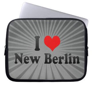 I Love New Berlin, United States Laptop Sleeve