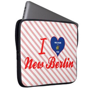 I Love New Berlin, Wisconsin Computer Sleeve