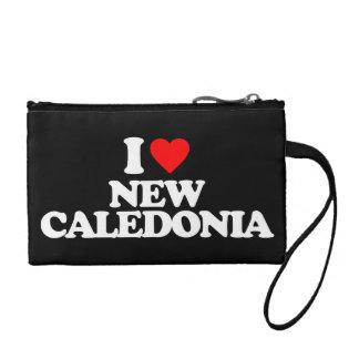 I LOVE NEW CALEDONIA CHANGE PURSES