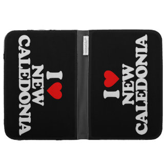 I LOVE NEW CALEDONIA KINDLE CASES