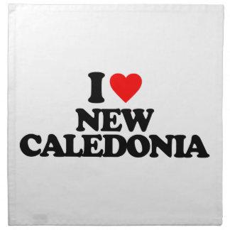 I LOVE NEW CALEDONIA CLOTH NAPKIN