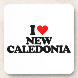 I LOVE NEW CALEDONIA COASTER